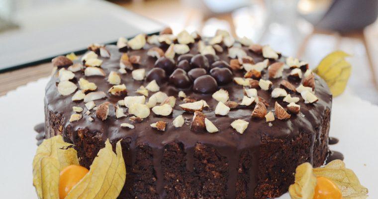 Лешниково- шоколадова торта