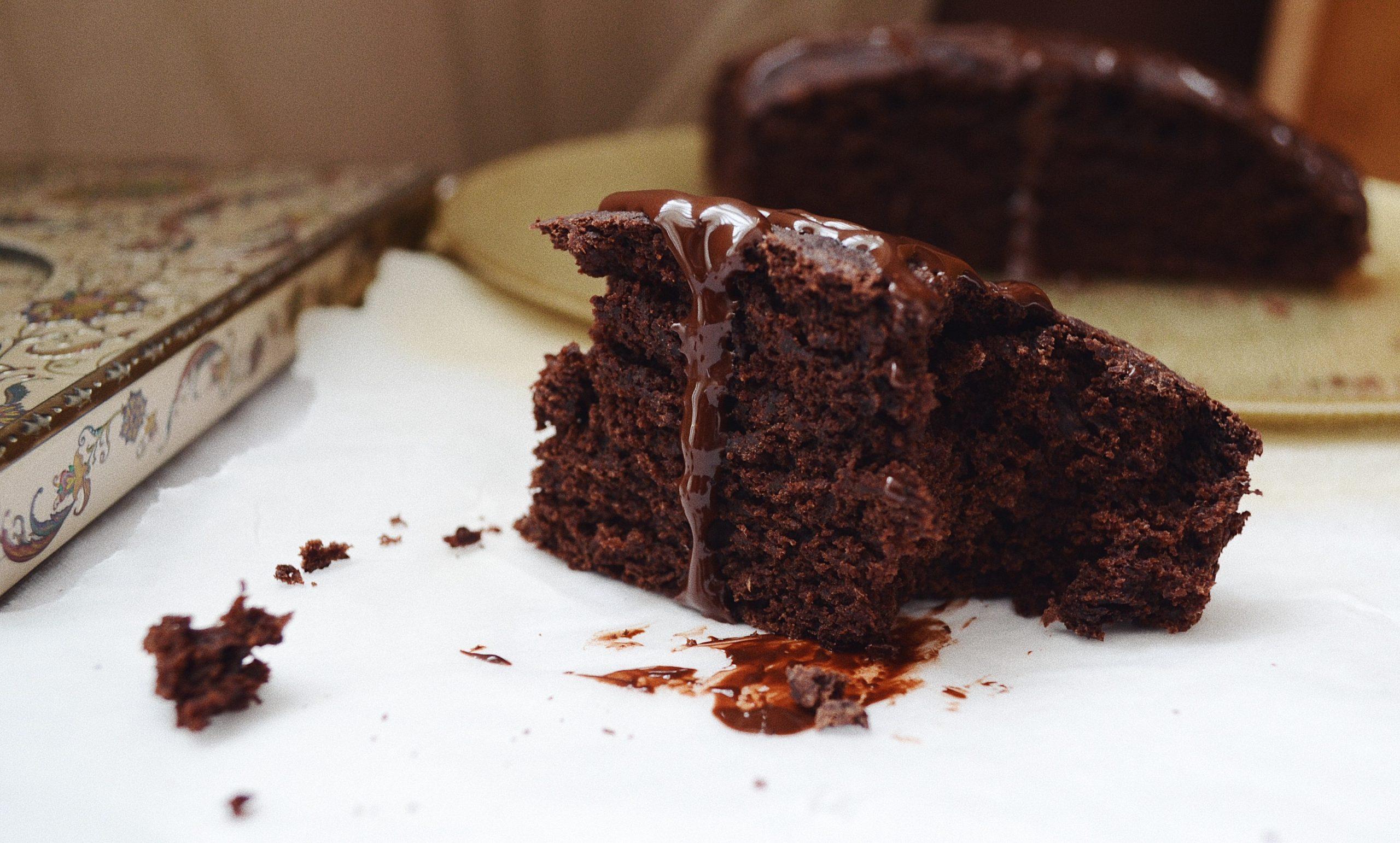 Постен какаов сладкиш
