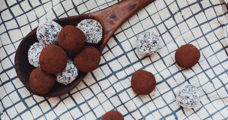 Веган какаови трюфели