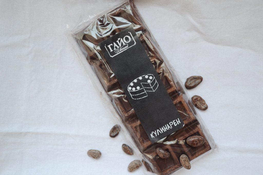 шоколад с какаови зърна